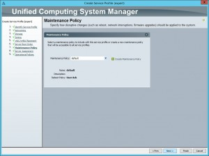 UCS Manager - Create Service Profile 7